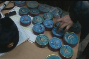 Полицейские изъяли очередную нелегальную партию чёрной икры
