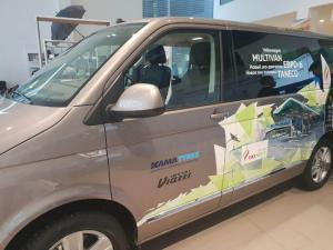 Для установки на тестируемый Volkswagen Multivan была выбрана продукция KAMA TYRES
