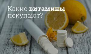 Представлены данные анализа продаж витаминов в России