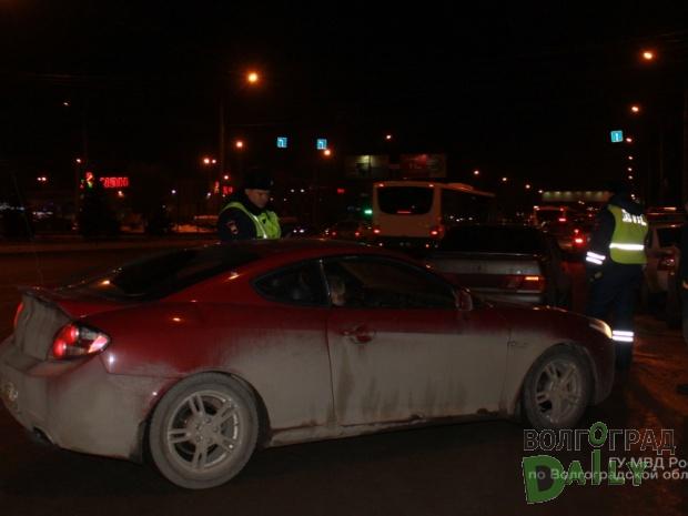 ВВолгограде прошли массовые проверки водителей