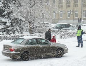 ВВолгограде столкнулись около 100 автомобилей