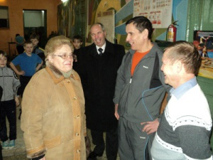 Врамках региональной недели депутат ГДАлевтина Апарина побывала вЛенинском районе
