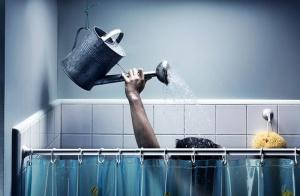 41день без горячего водоснабжения