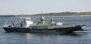 ВВолгоград возвращается плавучий храм «Святой Владимир»