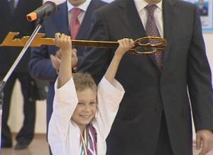Министр спорта открыл еще один ФОК вВолгограде
