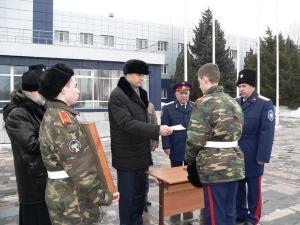 Волгоградские кадеты с  новым помещением