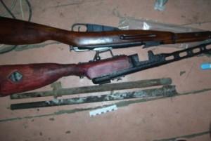 """Задержаны """"черные копатели"""", подозреваемые в незаконном изготовлении оружия"""