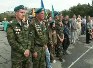 Автопробег вчесть воинов-десантников прибыл вВолгоград